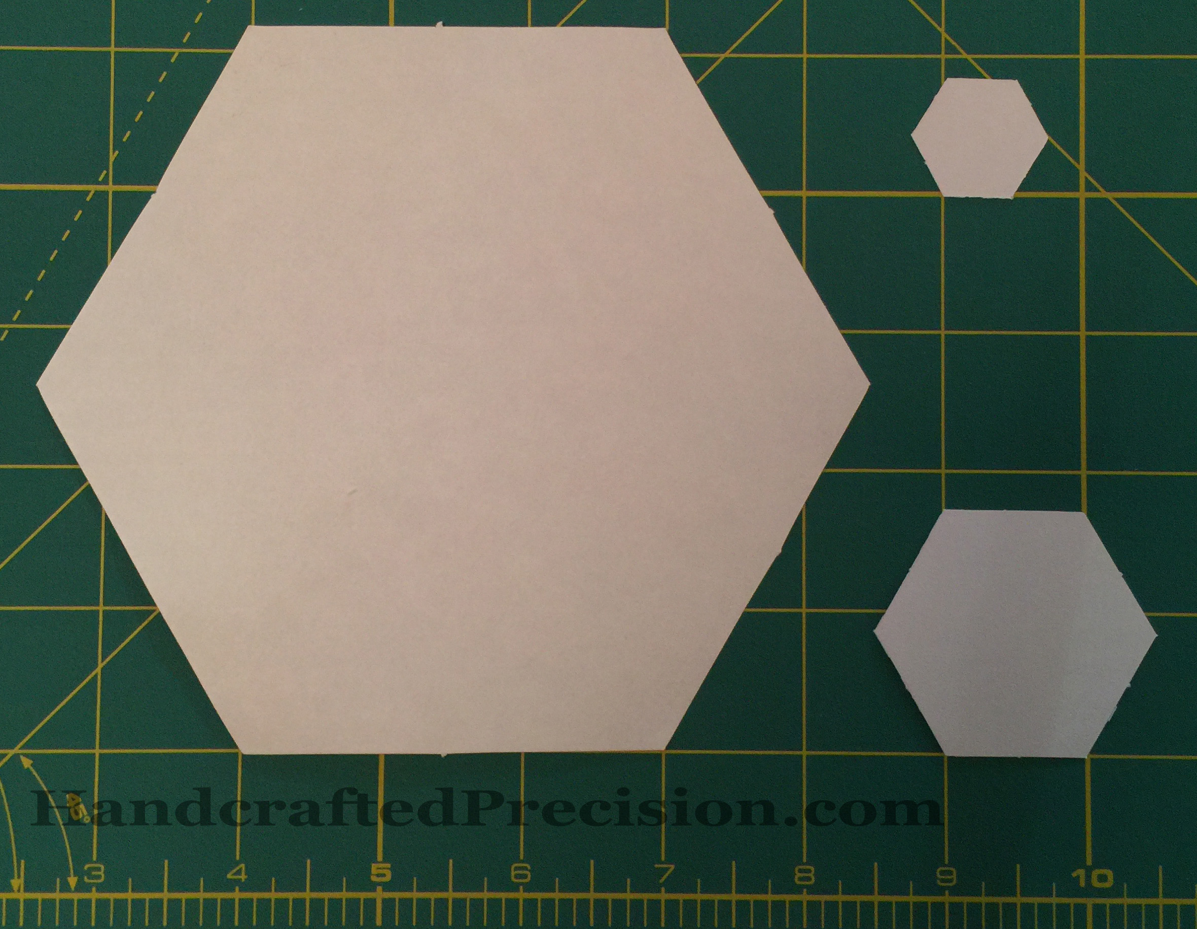 Hexagon Sizes HP