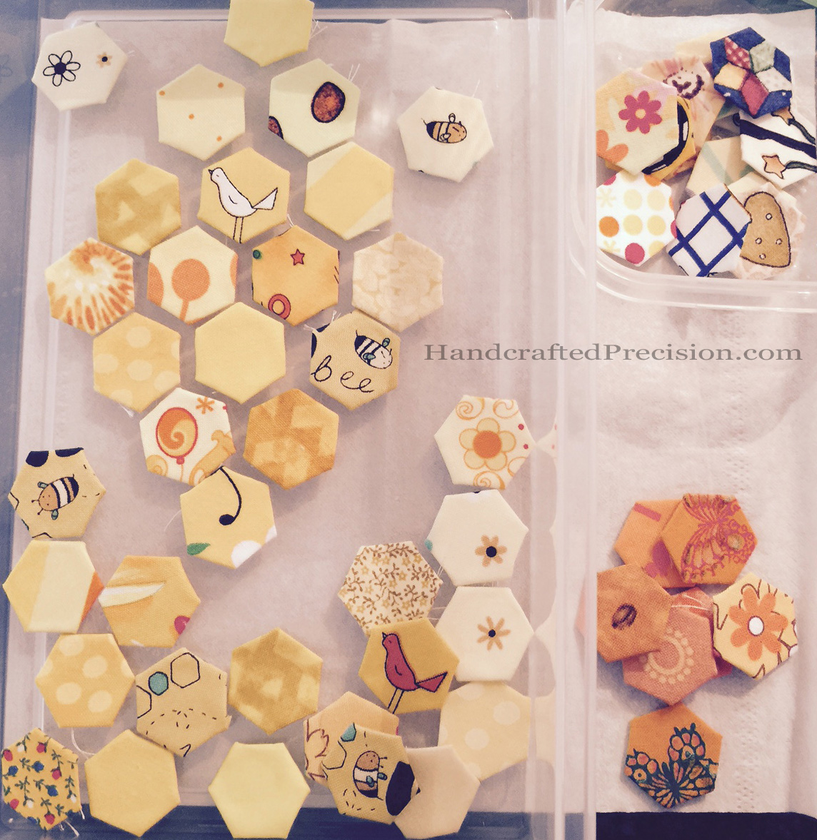 Yellow Hexagons and Loosies WM