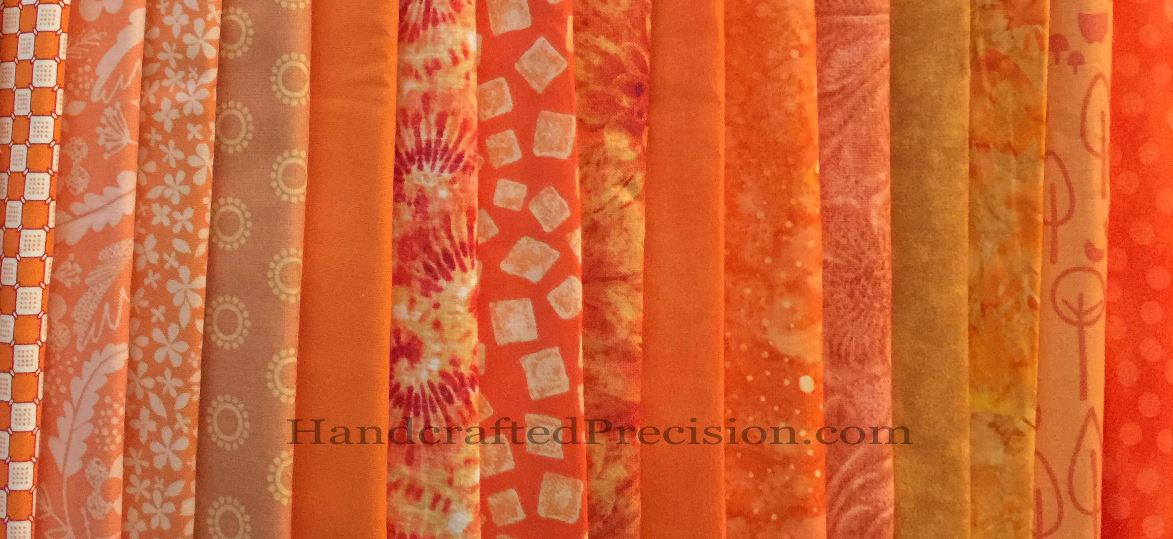 Orange Fabric Goodness WM
