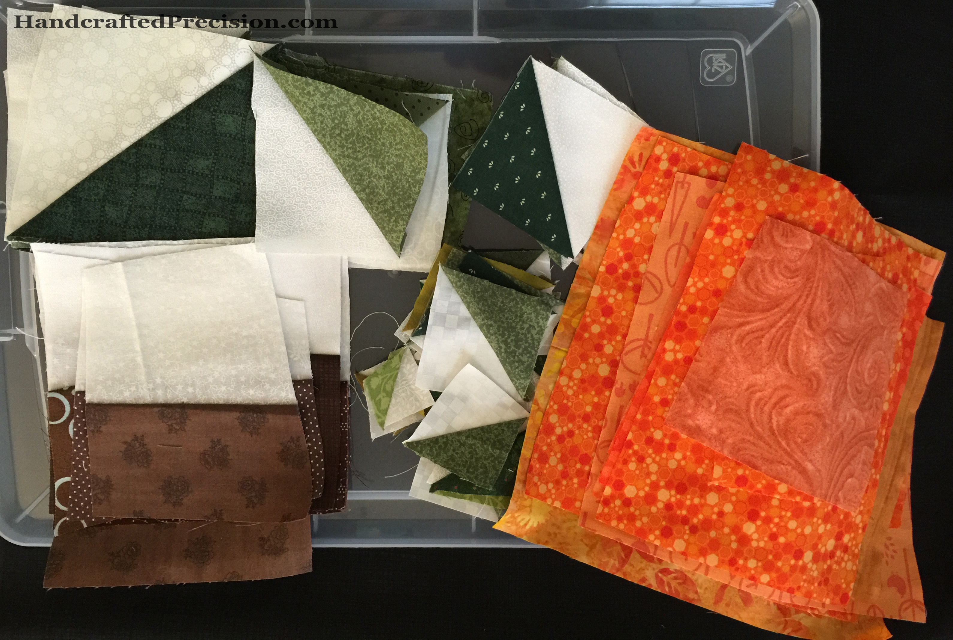 Pumpkin Quilt Cutting HP