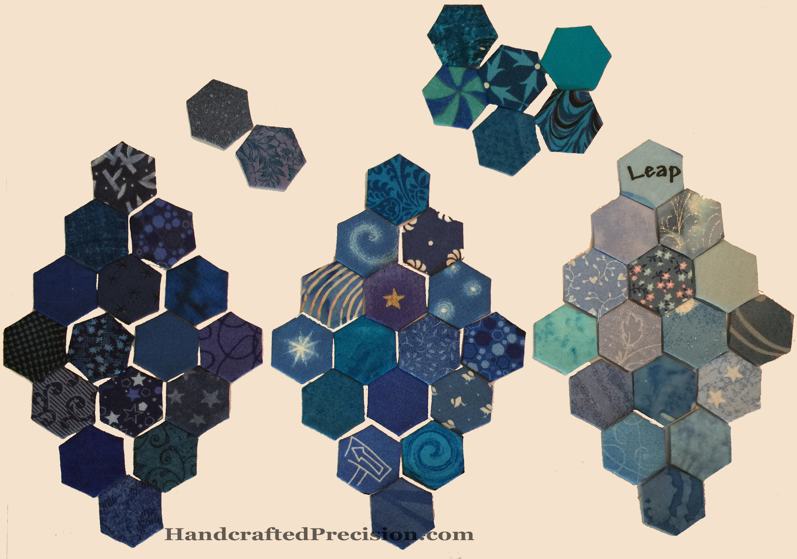 Blue Hexagon Diamonds HP