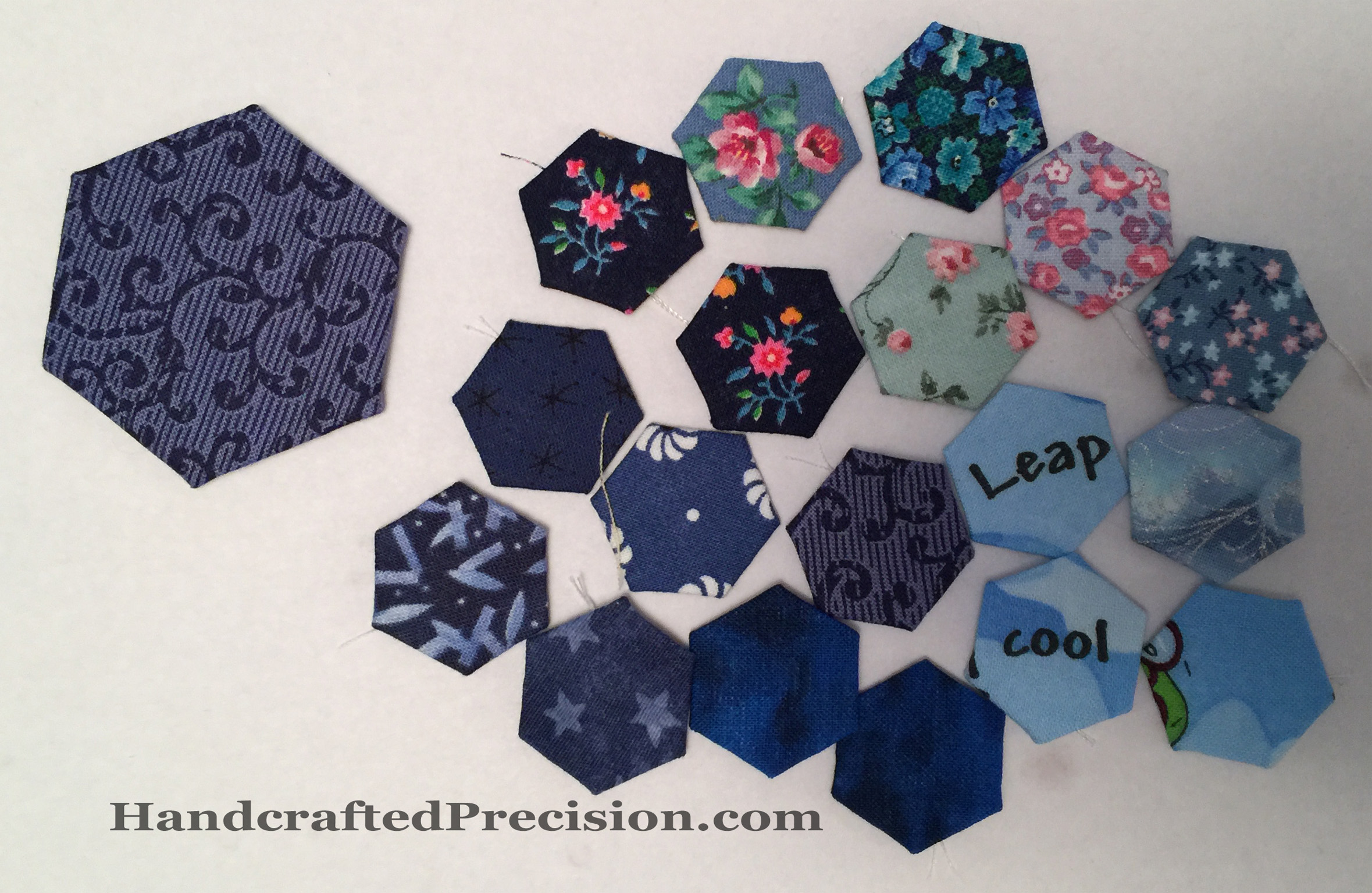 Spare Blue Hexagons HP